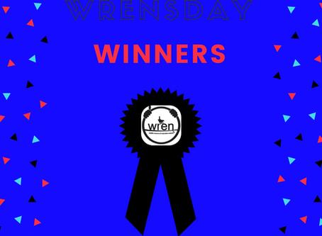 WRENsday Winners