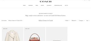 Coach website