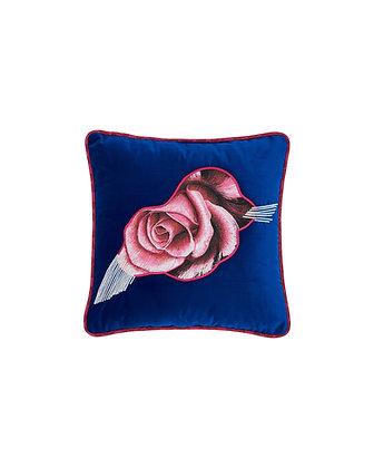 Rose Velvet Cushion