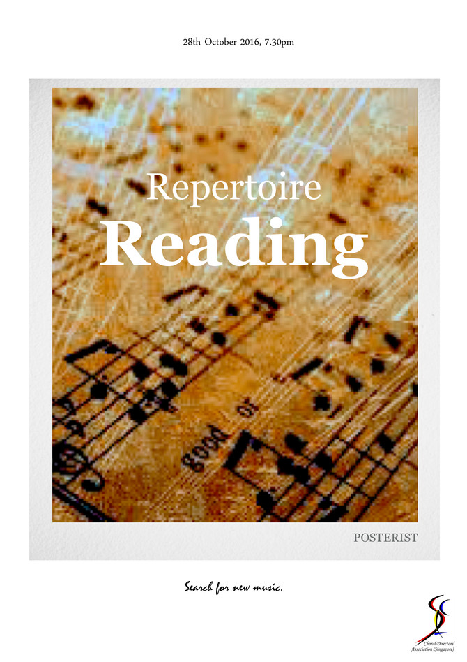 CDAS REPERTOIRE READING 2016