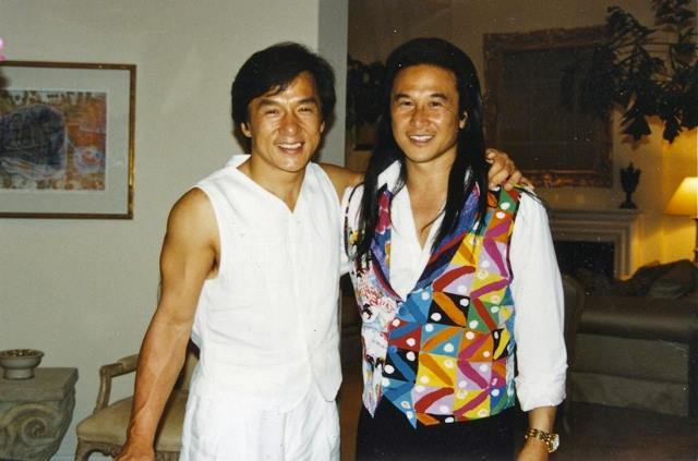 JL and Jackie Chan