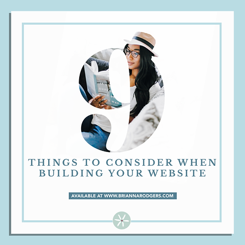 9 Things to Consider When Building Your Website