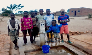 Malawi: Water Well Built