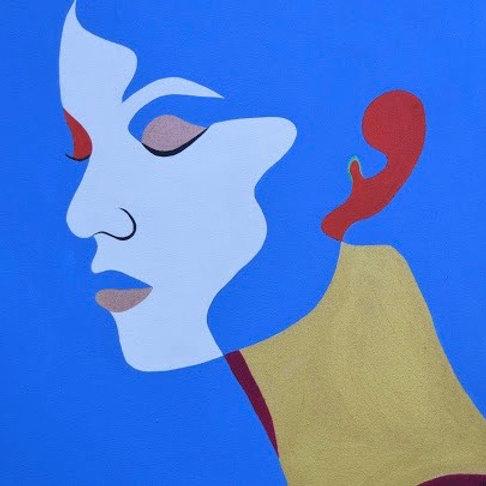 Blue - Original Painting / Print
