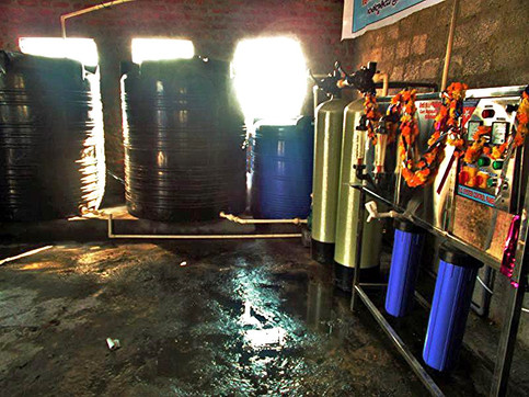 South Asia: Water Filtration Plant