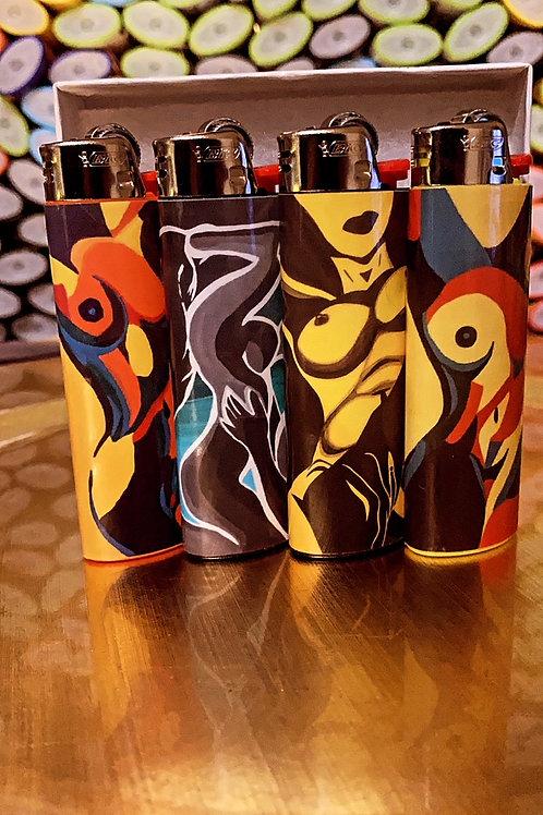 WomXn Lighter Set 4 Pack