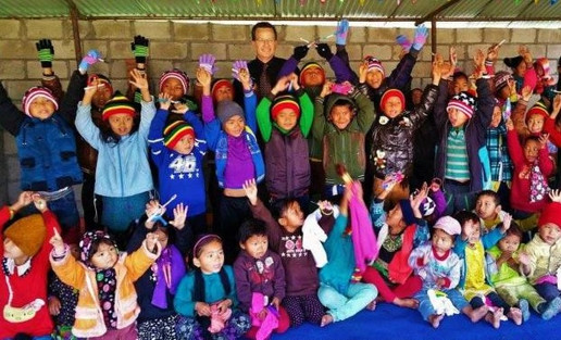 Southern Asia: Clothes Distributions