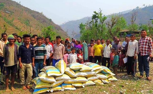 Southern Asia: Food Distributions