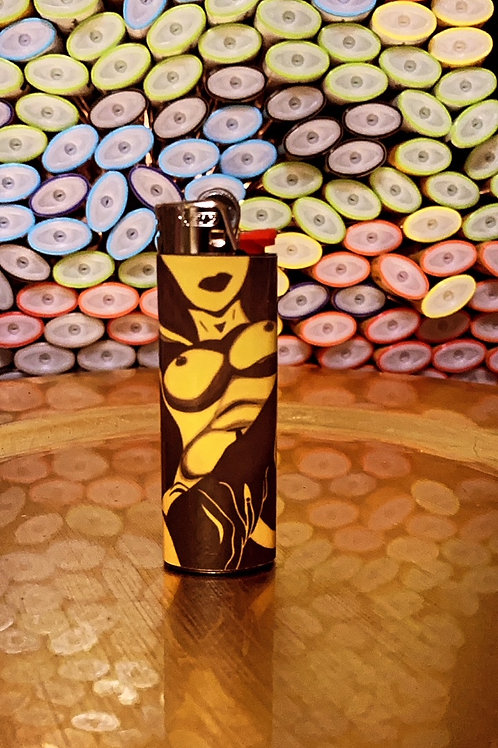 Yellow Beauty Lighter