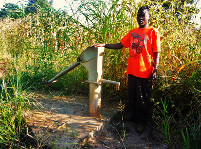 Malawi: Broken Water Well Repaired
