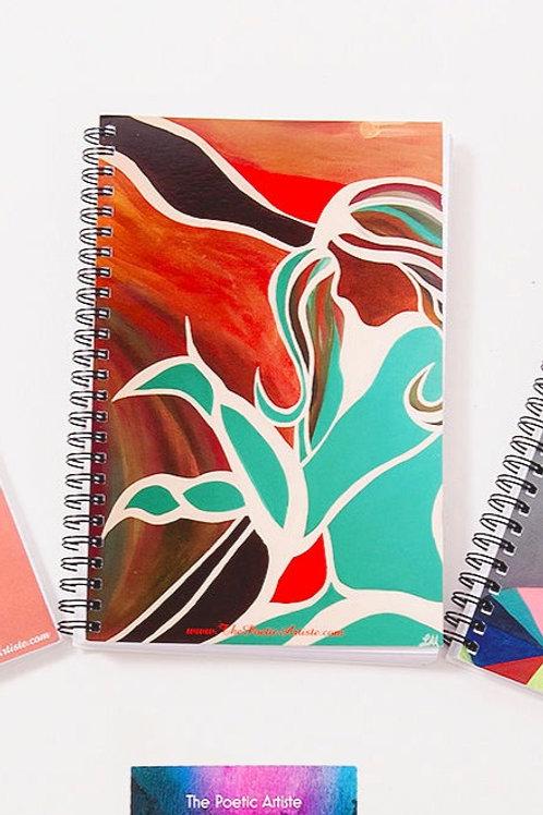Serene - Notebook x Lighter Set