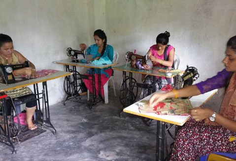 Southern Asia: Sewing Center