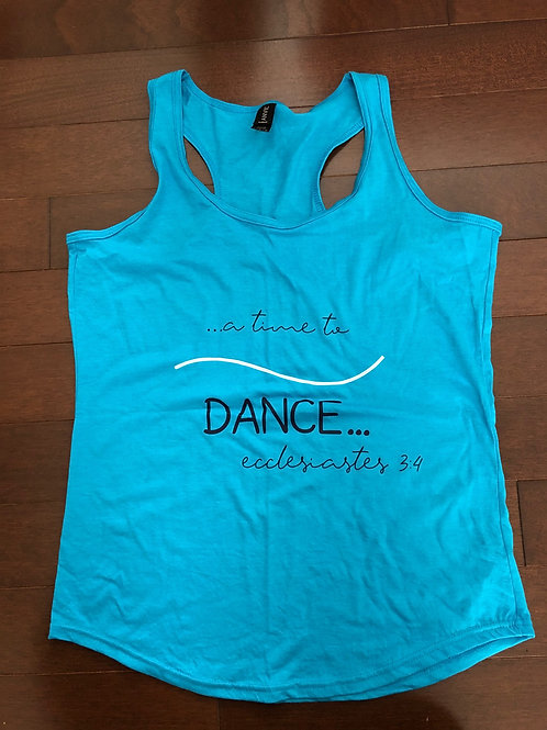 A Time To Dance Racerback Tank Top