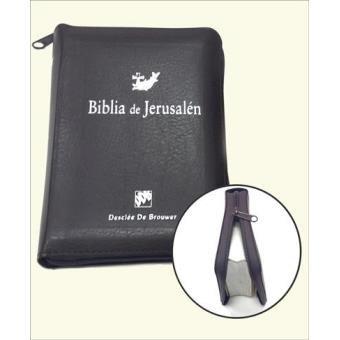 Biblia de Jerusalén de Bolsillo (estuche)