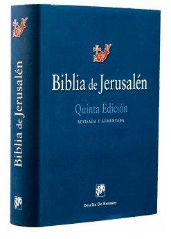 Biblia Jerusalén tapa dura