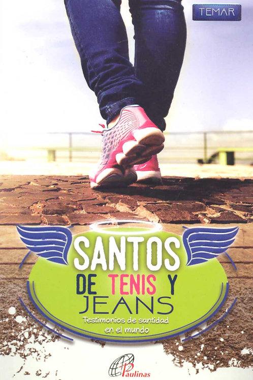 Santo de Tenis y jeans