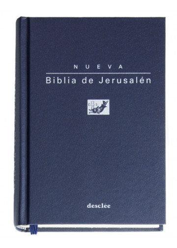 Nueva Biblia de Jerusalén de Bolsillo