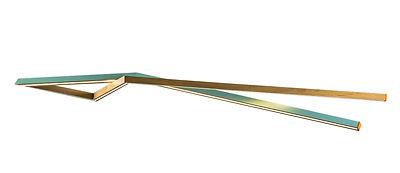 suspension bois éclairage led