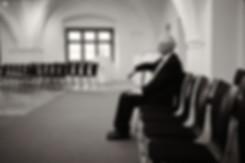 Dokumentarische Hochzeitsfotografie, einsamer Mann, Hochzetsfotograf in Esslingen