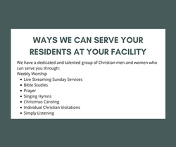 If the residents at your facility choose
