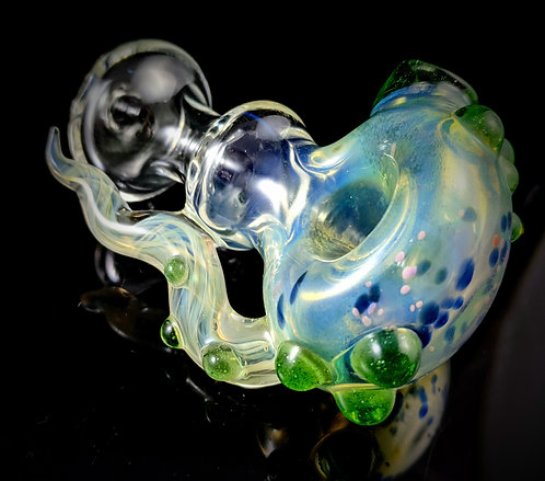 Jefferson Glass Co - Tentacle Hand Pipe