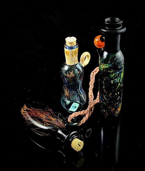 James Morgan - Glass Flask