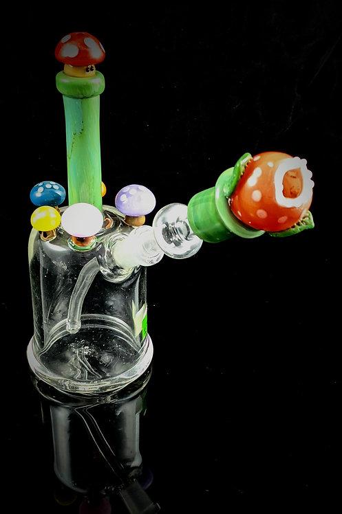 Empire Glassworks - Piranha Plant Rig
