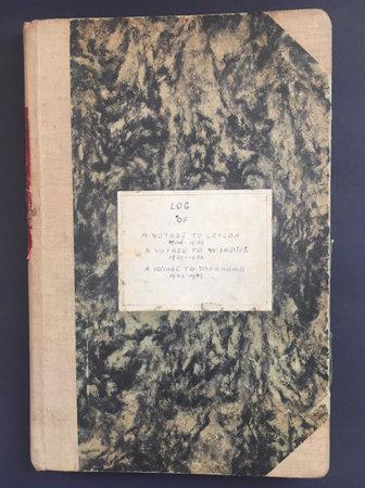 Mr. and Mrs. Wynford Swinburne. [MANUSCRIPT] Log of A Voyage to Ceylon