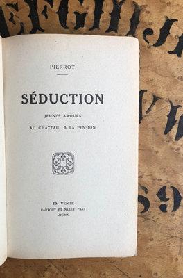 """""""Pierrot"""". [Erotica] Seduction"""