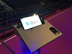 Lectern with Monitor