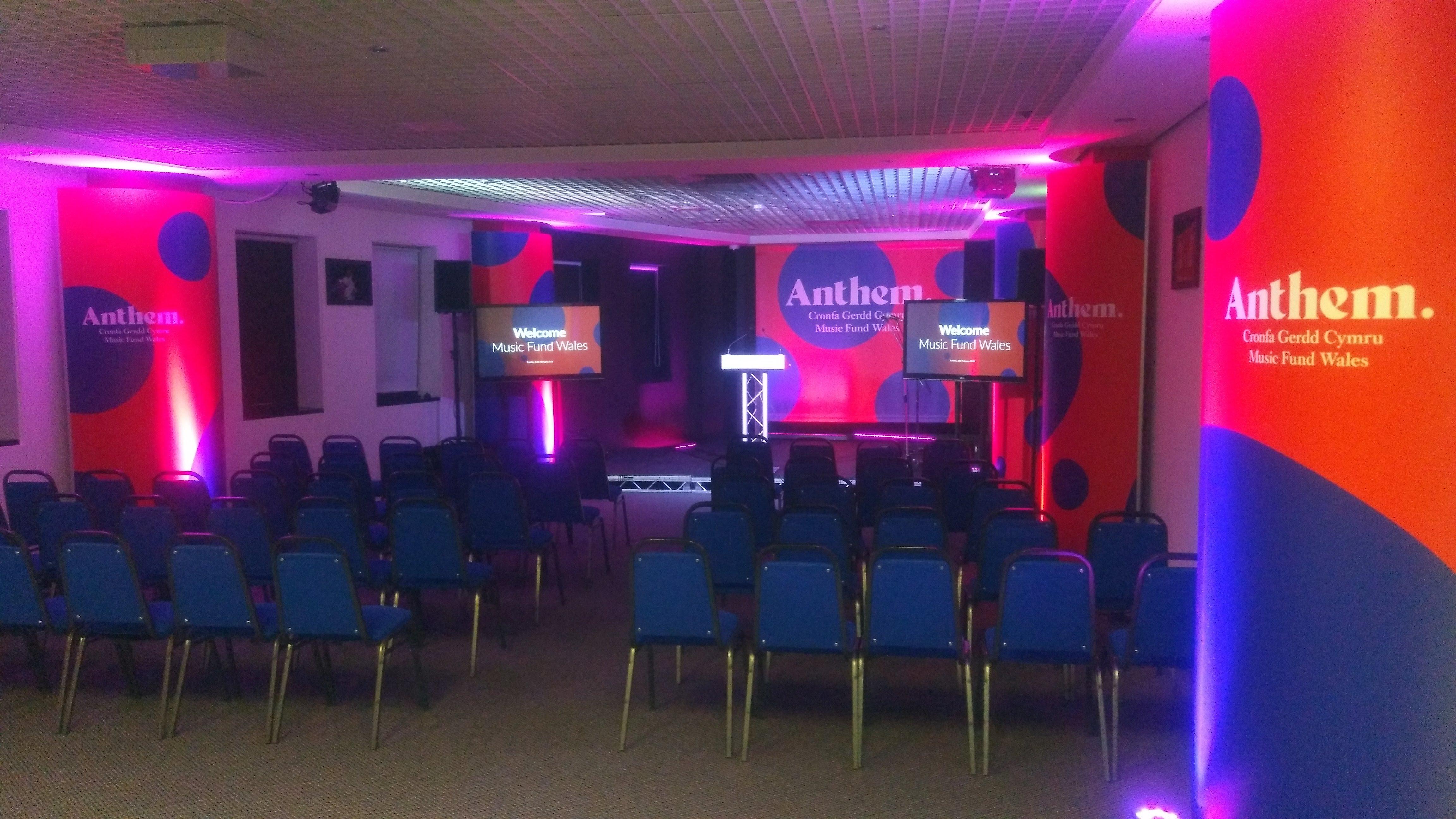 Small Presentation AV & Lighting
