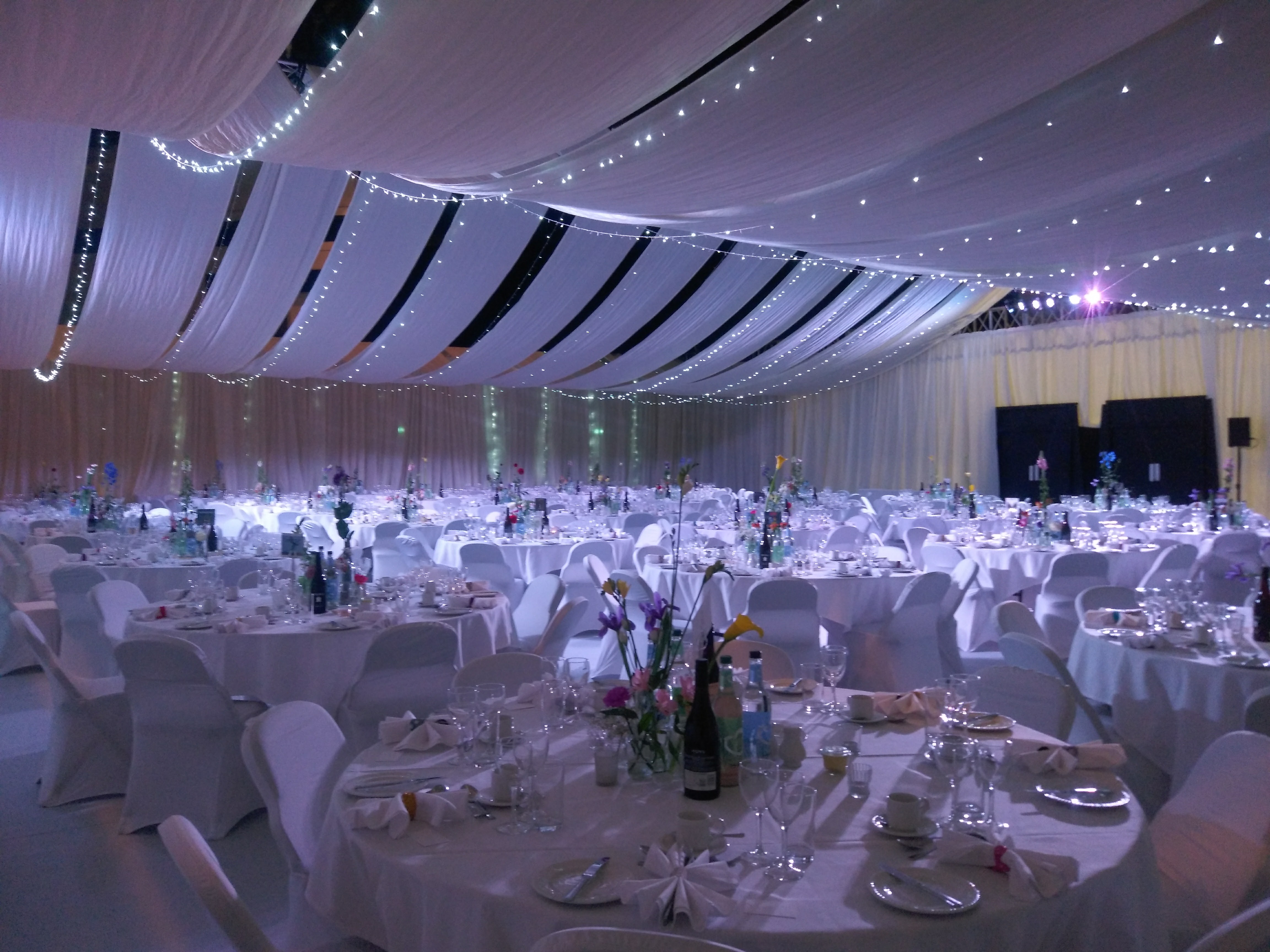 Wedding Draping & Lighting