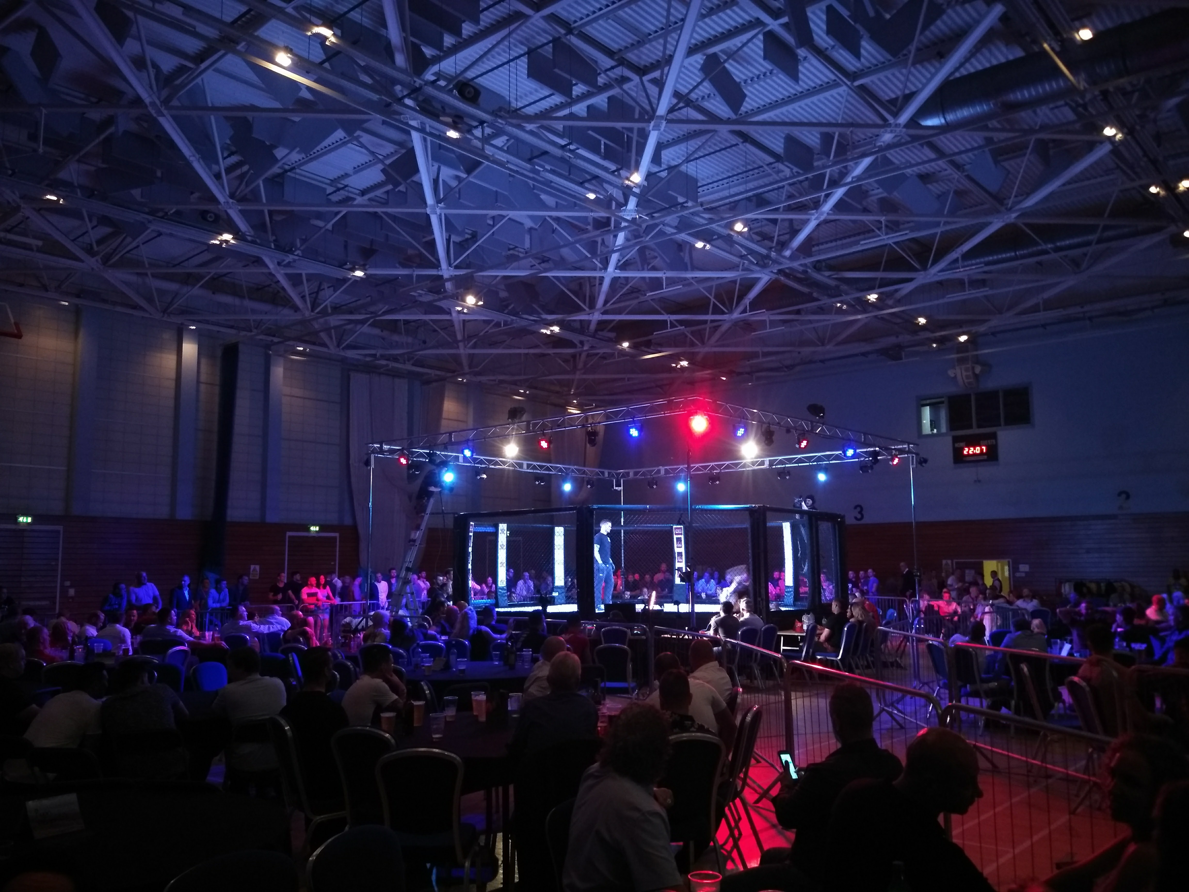 BUDO MMA Lighting