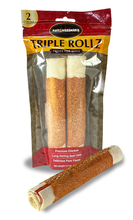 #01519 Triple Rollz - 2ct