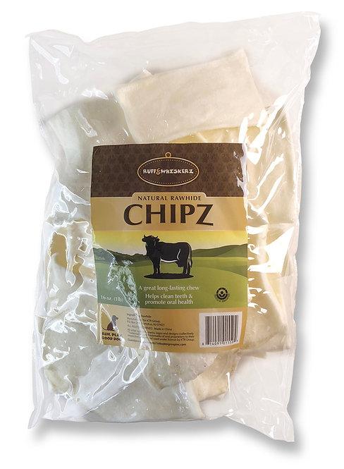 #01550 Natural Rawhide Chipz