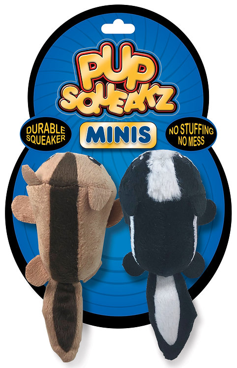 #01328 Minis - Skunk/Squirrel 2 Pack
