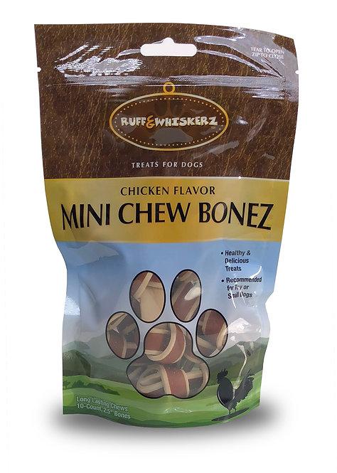 #01568 Mini Chew Bonez 10 Count