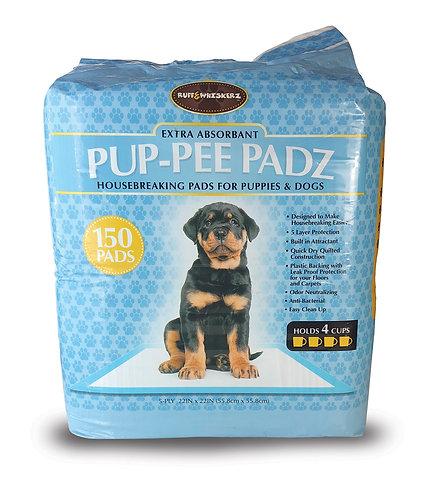 #01592 Pup-Pee Padz - 150 Count