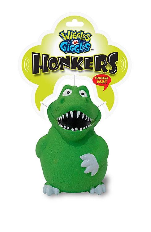 #01351 Honkers Asst - Dinosaur