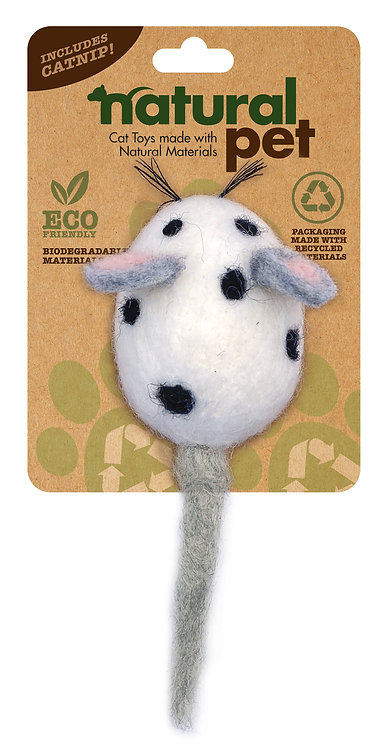 #01020 Wool Mouse