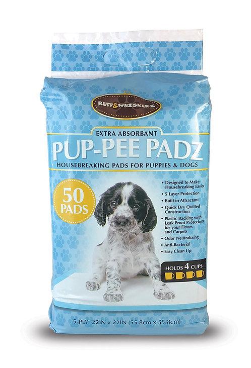 #01590 Pup-Pee Padz - 50 Count