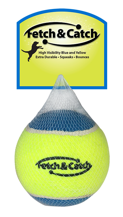 "#01712 4"" Squeaky Tennis Ball"
