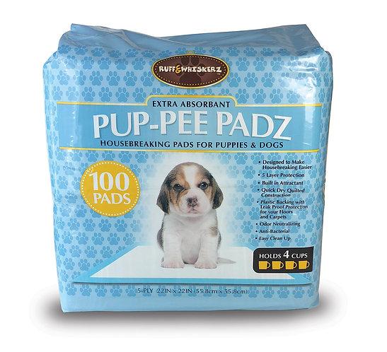 #01591 Pup-Pee Padz - 100 Count