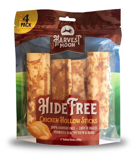 #01547 Hide Free Hollow Stick Chicken - 4pcs