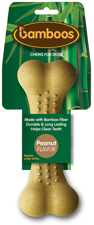 #01582 Bone - Large - Peanut Butter