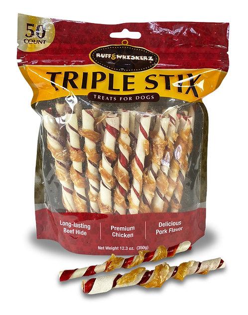 #01516 Triple Stix - 50ct