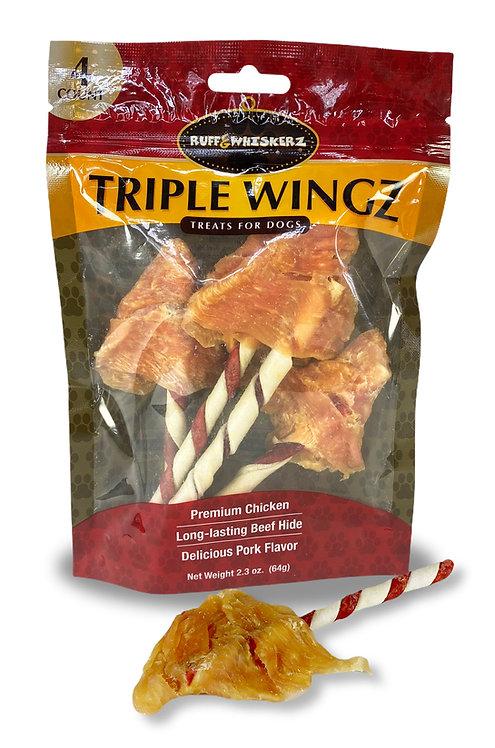 Ruff & Whiskerz Triple Wingz - 4CT