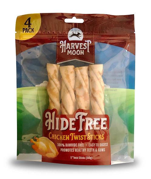 #01548 Hide Free Twist Sticks Chicken - 4pcs