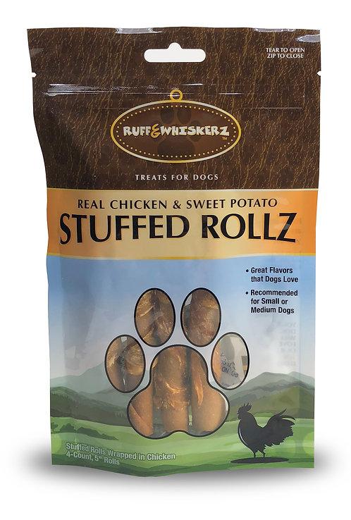 #01566 Stuffed Rollz 4 Count
