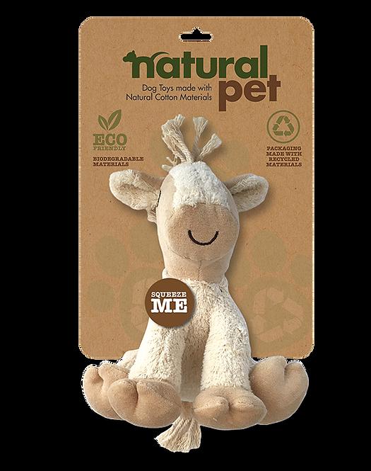 """#01285 6"""" Dog Toy Asst. - Horse"""